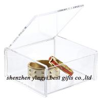 China wholesale acrylic gift packing box on sale