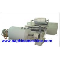 China Kraft Paper Roll Slitting Machine And Roll Rewinding Machine With Automatic Lift System on sale