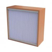 Quality High Mechanicla Strength Air Purification Filters Box Type With Wooden Frame wholesale