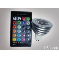 Quality Colour Changing Led Lights 3W MR16 Remote Control Led Lights ATF-RGB3WMR16 wholesale