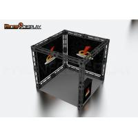 China Aluminum Frame Truss Trade Show Booth Custom Design With Dye Sublimation Printing on sale