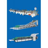 China High Speed Automatic Folder Gluer Machine For Paper Box on sale