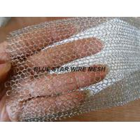 Quality Multi Filament Stainless Steel Knitted Mesh Demiter Pad For Filter Bright Silver Color wholesale