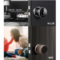 Quality Zink Alloy Nice Appearance Smart Door Lock Fingerprint Semiconductor Sensor wholesale