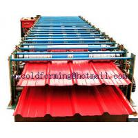 Quality Double Layer Wall Panel Roll Forming Machine Automatic High Speed have PLC control wholesale
