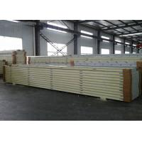 Quality Cold Storage Room Sandwich Panel , Insulation Insulated Panels SGS Certification wholesale
