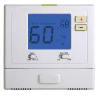 Quality Heating And Air Conditioning Thermostats , Battery Operated Programmable Thermostat wholesale