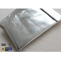 Quality Silver Fireproof Document Bag Pouch 1022℉ Fiberglass Non Irritating Durable wholesale