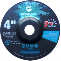 Quality 4 Inch Stainless Steel 100×2.5x16mm Flexible Grinding Disc wholesale
