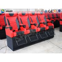 Quality Profession 4D Movie Theater With Feet Tickle / Vibration / Push Back wholesale