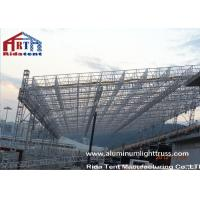 Cheap Heavy Duty Aluminum Roof Truss SystemNon Toxic Durable PVC Roof Cover Fabric for sale