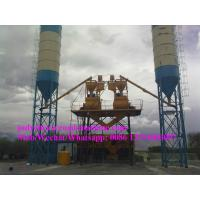China HZS50 model Concrete Batch Mix Plant with mixer JS1000 , power 100KW on sale