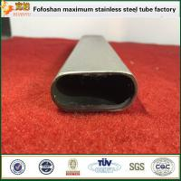 Quality Standard Grade Flat Sided Oval Stainless Steel Slooted Tubing wholesale