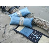 China hotel bedding runner and cushions on sale