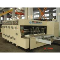 380V Stable Carton Packing Machine With Die Cutter / Corrugated Case Flexo Printer