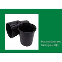 Quality Round Garden Nursery Pots Garden plant accessories Black or as request Color Plant Growing Material Plasitc Warranty per wholesale