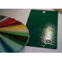 China Green Wrinkle Texture Grain Thermoset Powder Coating Paint for Metal Furniture on sale