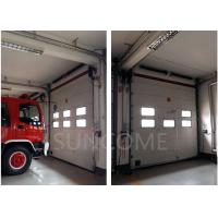 Quality High Speed Industrial Sectional Doors Safe 40mm Insulated Sandwich Panel wholesale