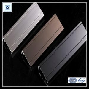 Cheap Aluminium Sliding Window Aluminium Window Extrusions With Mosquito Screen / Vertical Aluminum Louvers for sale