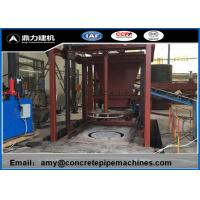 Electric Pipe Manufacturing Machine For Flat / Socket / Rabbet Mouth Pipe