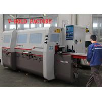 Quality Full Automatic Four Side Planer Woodworking Machine Heavy Duty For Shuttered Window wholesale