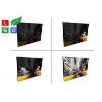 Quality Aluminum Material EL Light Panel DC 12V / 24V LED Animation Textile Frame wholesale