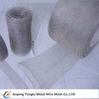 Cheap Knitted Wire Mesh Roll|Knit Wire By Stainless Steel/ALuminum  0.08mm~0.55mm Wire for sale