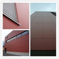 High Strength Colored Fiber Cement Board For Interior / Exterior Wall Waterproof