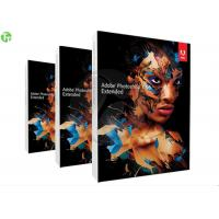 Quality Professional Adobe 3D Graphic Design Software , Adobe Photoshop CS 6 Extended wholesale