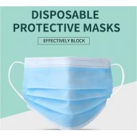 Quality Manufacturer CE/ FDA Medical 3Ply Earloop Mouth Mask 3 Layer Disposable 3 ply Medical Face Mask wholesale