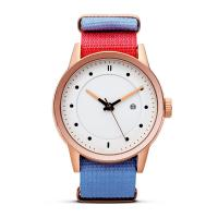 Quality Quartz Stainless Steel Watch Water Resistant Nylon Strap Watches For Women wholesale