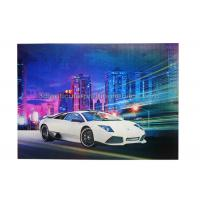 Quality Car Poster  Lenticular 3d Effect Poster PET CMYK Offset Printing wholesale