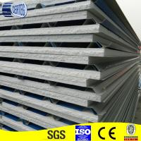 Quality colored polyurethane sandwich panel roof sheet wholesale