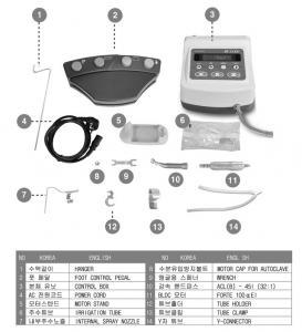 Cheap Dental Saeshin Implant Surgery Motor w/ 20:1 redcution handpiece FDA CE KOREA for sale