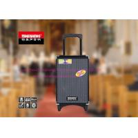 8 Inch Rechargeable Portable Trolley Speakers With Usb Input And Wireless MIC