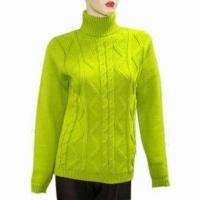 Quality Ladies sweater, made of 100% cashmere wholesale