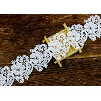 Quality Floral Guipure Water Soluble Lace Trims With Heavy Embroidery For Dresses Ribbon wholesale