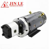 Quality ZD2371 24V Hydraulic DC Motor , 4KW DC Motor CW Rotation With Gear Pump wholesale