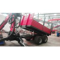 Quality Forestry Equipment Hydraulic Mobile Crane for Sugar Harvest Loaded on Trailer wholesale
