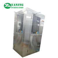 Quality L Type Door Corner Stainless Steel Air Shower Customize Size Easy To Clean wholesale