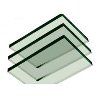 Cheap Smooth 10mm Clear Toughened Glass , Decorative Laminated Tempered Glass for sale