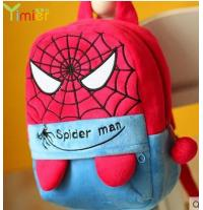 popular canvas backpack spider man