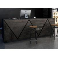 Quality Contemporary Retail Checkout Counter For Cash Register Customized Logo / Color wholesale