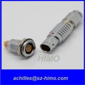 metal lemo 5 pin male plug FGG.0B.305.CLAD connector