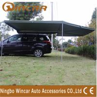 Quality Canvas Tent Trailer Awning Waterproof with Rectangle Triangle wholesale