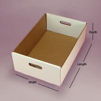 Quality Cake Box Baked Food Cookies Packaging Tray Box wholesale