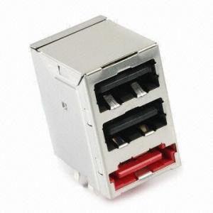 China E Sata + Dual USB with Black High-temperature Plastic on sale