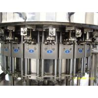 China Automatic Glass Bottle Sparkling Water Carbonated Drink Filling Machine SUS304 Material on sale