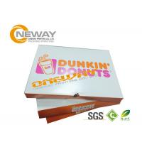 China Kraft Paper Custom Gift Boxes , Disposable Custom Printed  Gift Boxes Fast Food Packaging Box on sale