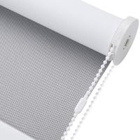 China Sun Screen Manual Roller Blinds Beads Rope Control Residential Commercial on sale